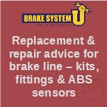 Brake line repair kit